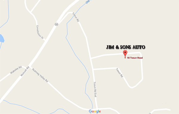 Jim & Sons Map